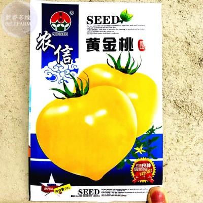 Golden Yellow Tomato Organic Seeds