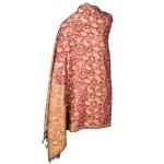 Jamawar Ladies Shawl (Earthy Brown)