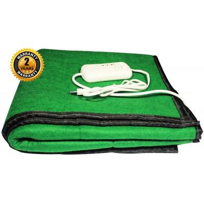Electric Heating Blanket Single Bed (Green Namda Polyphil)