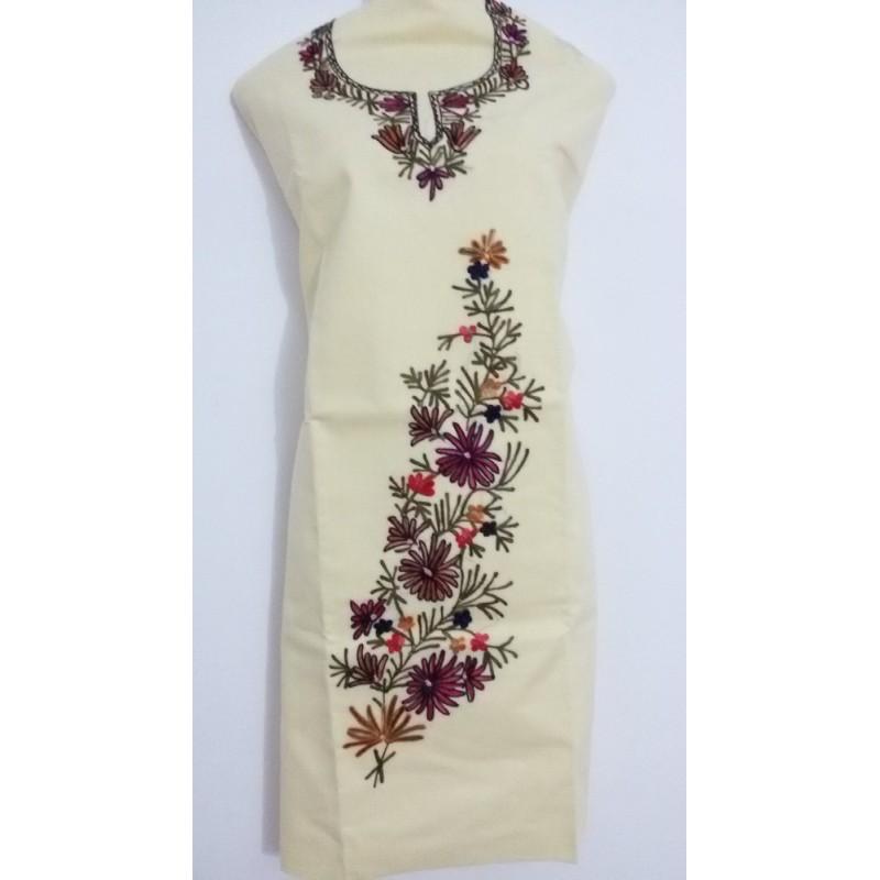 Kashmiri Kadai Cotton Suit (KSLSCS0026)