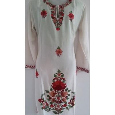Embroidered Summer Cool Cotton Kurti (KSEK0013)