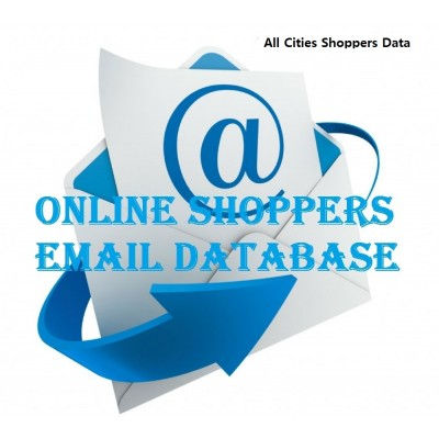 Email database of Major Indian Cities Shoppers