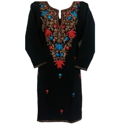 Embroidered Woolen Kurti (KSEK0023)