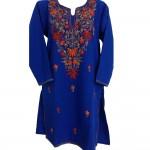 Embroidered Woolen Kurti (KSEK0025)
